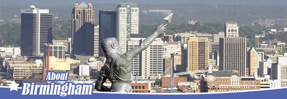 Vulcan overlooking Birmingham