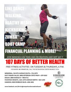 107 Days of Better Health 2017