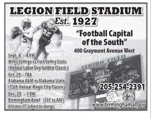 Legion Field Stadium Schedule 2016 no 1