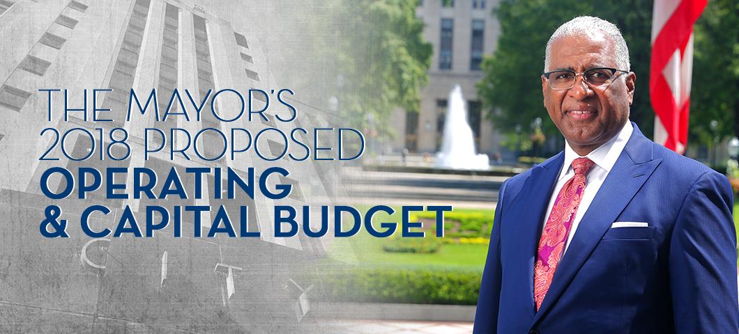 Mayor's 2017 Budget